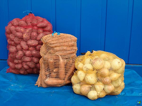 Мешки для овощей упаковка 100 шт.